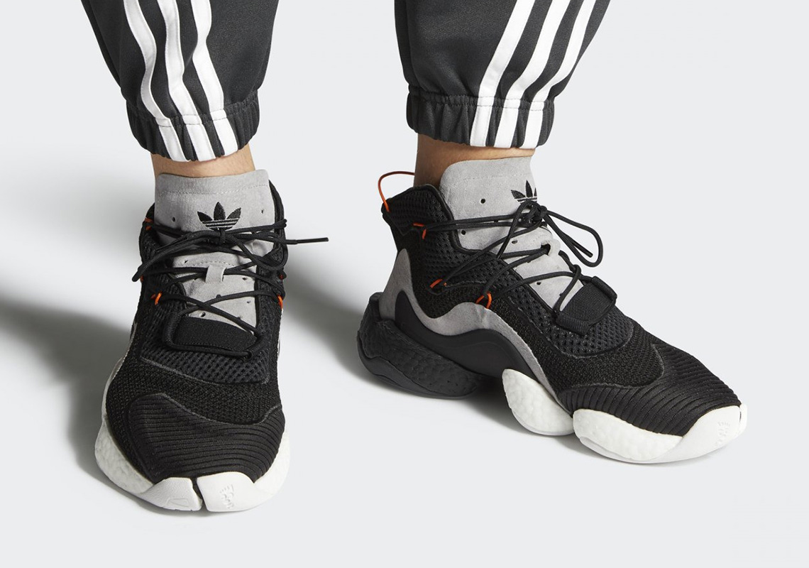 """buy popular 698ba bc3d6 adidas Crazy BYW """"Carbon"""" Set To Release On May 24th"""
