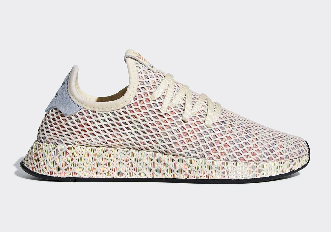 buy popular aa5d4 26bac Check out a Where To Buy list for all four of the unique Pride releases  below. adidas Originals Deerupt Pride