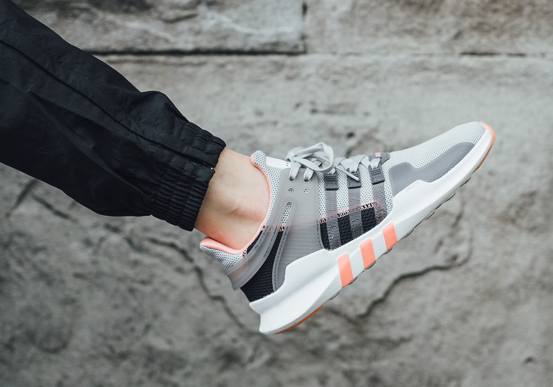 sale retailer 17921 3e821 The adidas EQT Support ADV Arrives In Soft Neons