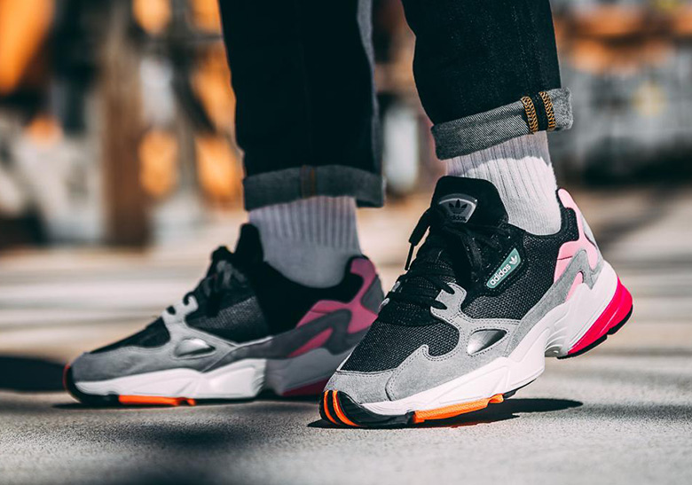 hot sale online af60e fa805 Where To Buy  adidas Falcon BB9173   SneakerNews.com