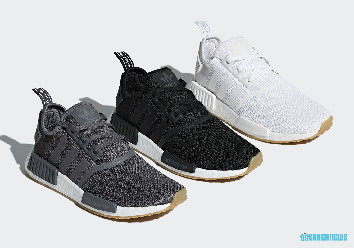 "The adidas NMD Gets Back To Basics With A ""Gum Sole"" Pack 03291da5a"