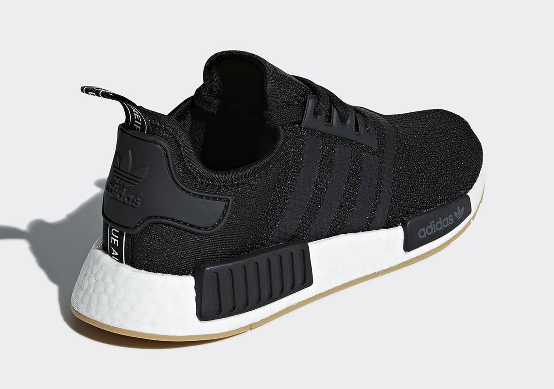 black adidas nmds r1
