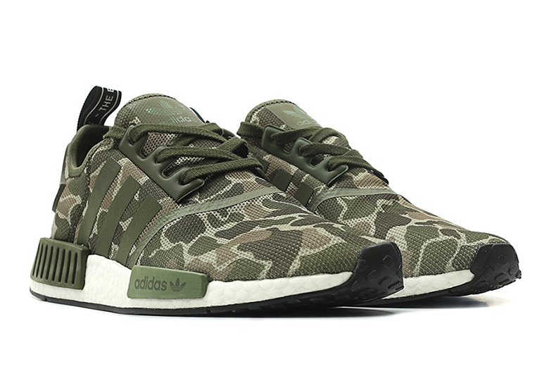 sports shoes dbf86 645f7 adidas NMD R1 Duck Camo Release Info D96616 D96617   SneakerNews.com