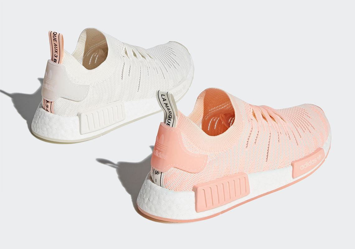 "73abde035d37 adidas NMD R1 STLT ""Clear Orange"" Pack Coming This June"