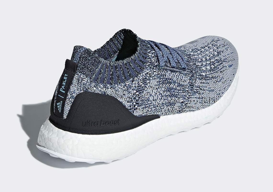 release date: 6a19d 1485e Parley x adidas Ultra Boost Uncaged Release Info AC7590 ...