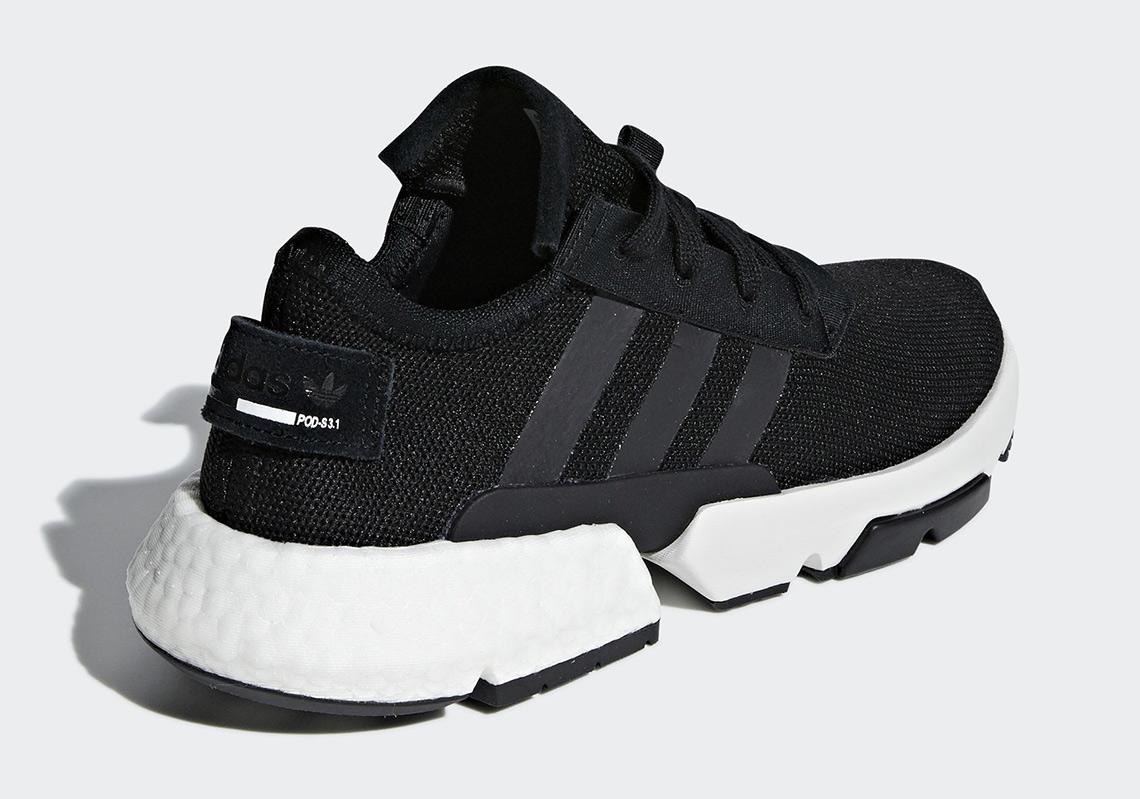 adidas POD Black White B37366 Release Info |