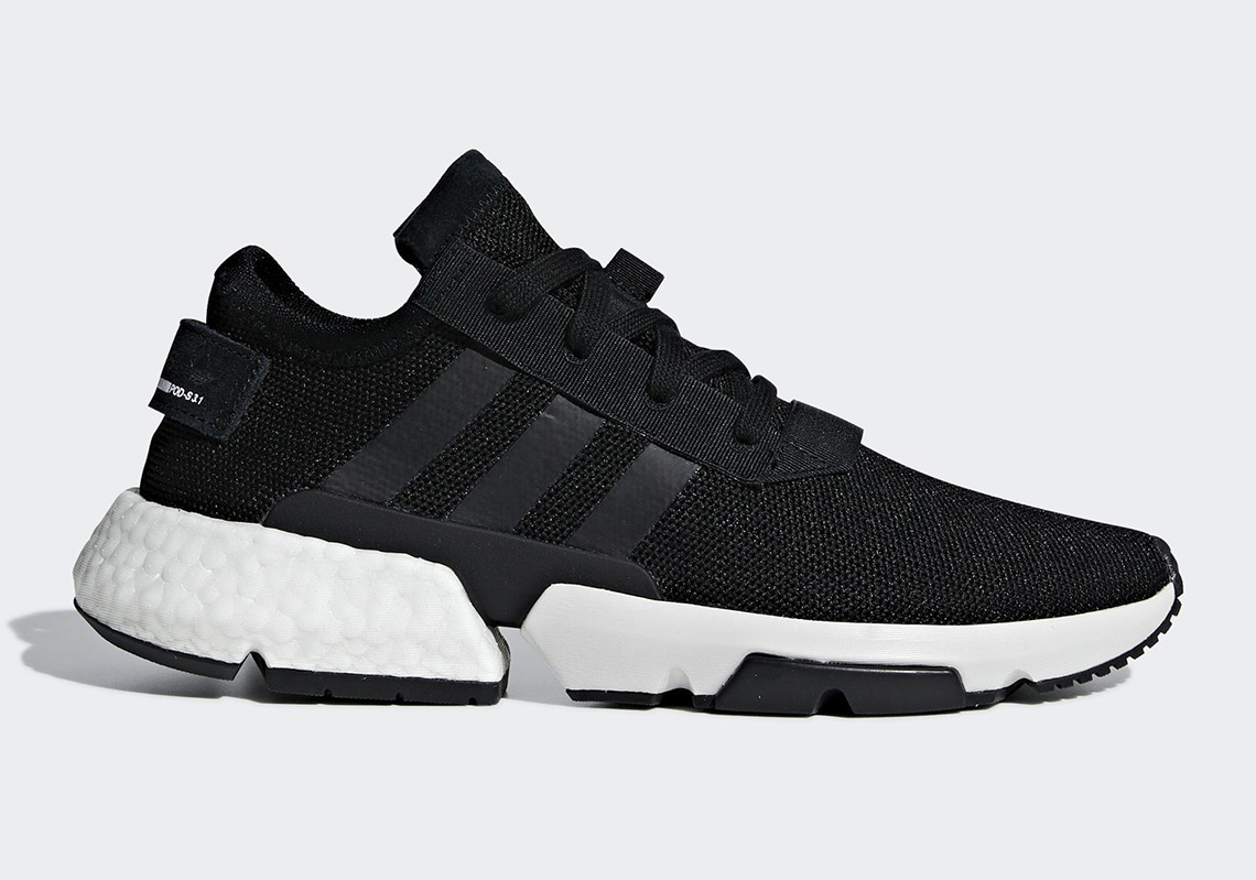 check out def6c ccffb The adidas POD-S3.1 Revealed In BlackWhite