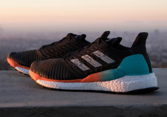 The New adidas Solarboost Features New Tailored Fiber Placement Technology