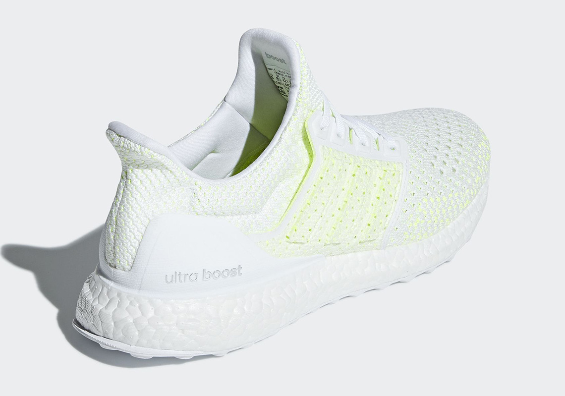 official photos c8a84 1f9e5 adidas Ultra Boost Clima Release Date June 14th, 2018. Color Footwear  WhiteFootwear WhiteSolar Yellow