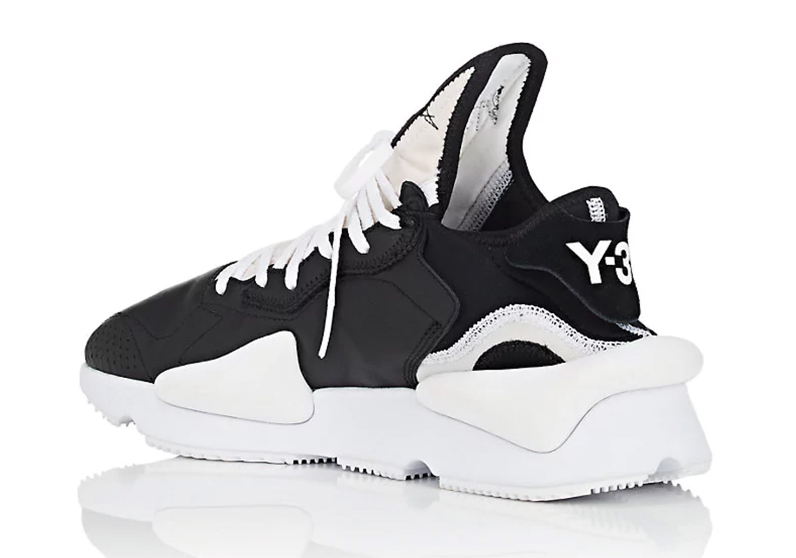 d26a6f68de99 adidas Y-3 Kaiwa Black White Available Now