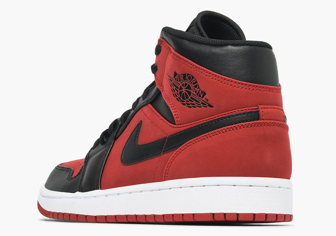 buy popular 72ddb e5b8c Air Jordan 1 Mid Available Now on Caliroots Color  Gym Red Black-White  Style Code  554724-610. Advertisement. Advertisement