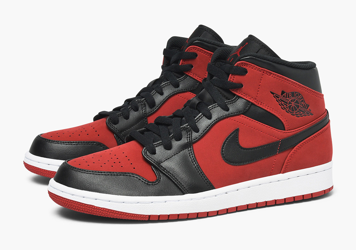 178f5dcefe2 Air Jordan 1 Mid Available Now on Caliroots Color  Gym Red Black-White  Style Code  554724-610