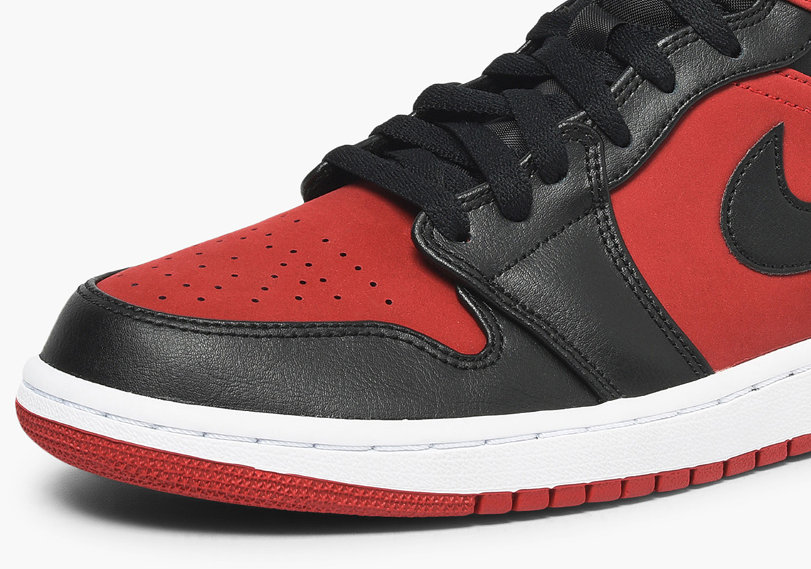 "The Famed ""Banned"" Returns On The Air Jordan 1 Mid"