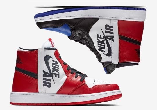 "Air Jordan 1 Rebel Launches This Week In ""Chicago"" And ""Top 3"""