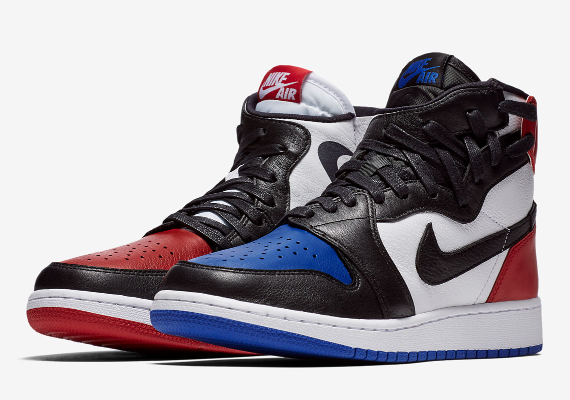 "07c2d0b59c4 Official images of the Air Jordan 1 ""Rebel"" in a ""Chicago"" and ""Top 3""  color scheme are available below with the sneakers set to arrive at  retailers on May ..."