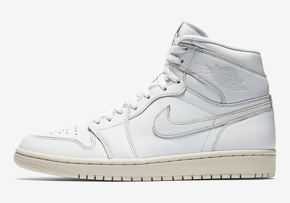 """huge selection of 07e79 9f101 ... Air logo instead of the Nike Air logo on the tongue. All three pairs of  the Air Jordan 1 """"Desert Sand"""" collection are available now on Nikestore US  and ..."""