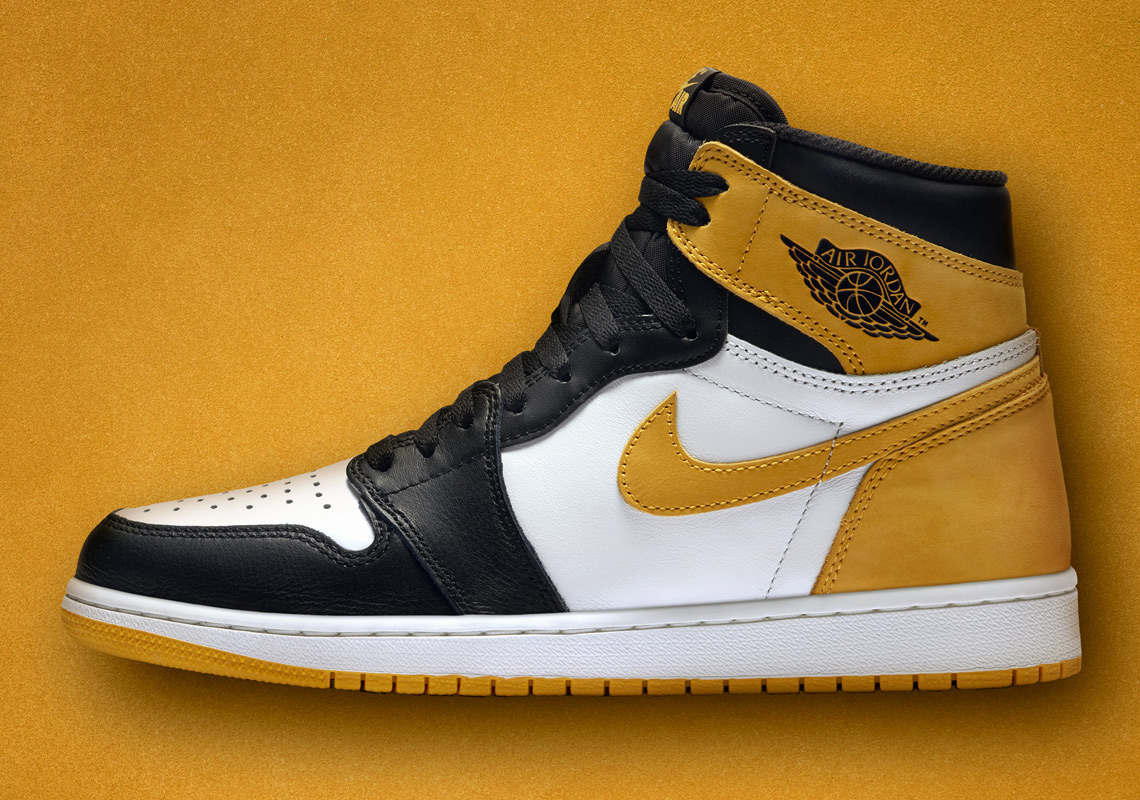 "24caa36be603 Air Jordan 1 Retro High OG ""Yellow Ochre"" Nike SNEAKRS EU Release Date  May  9th"