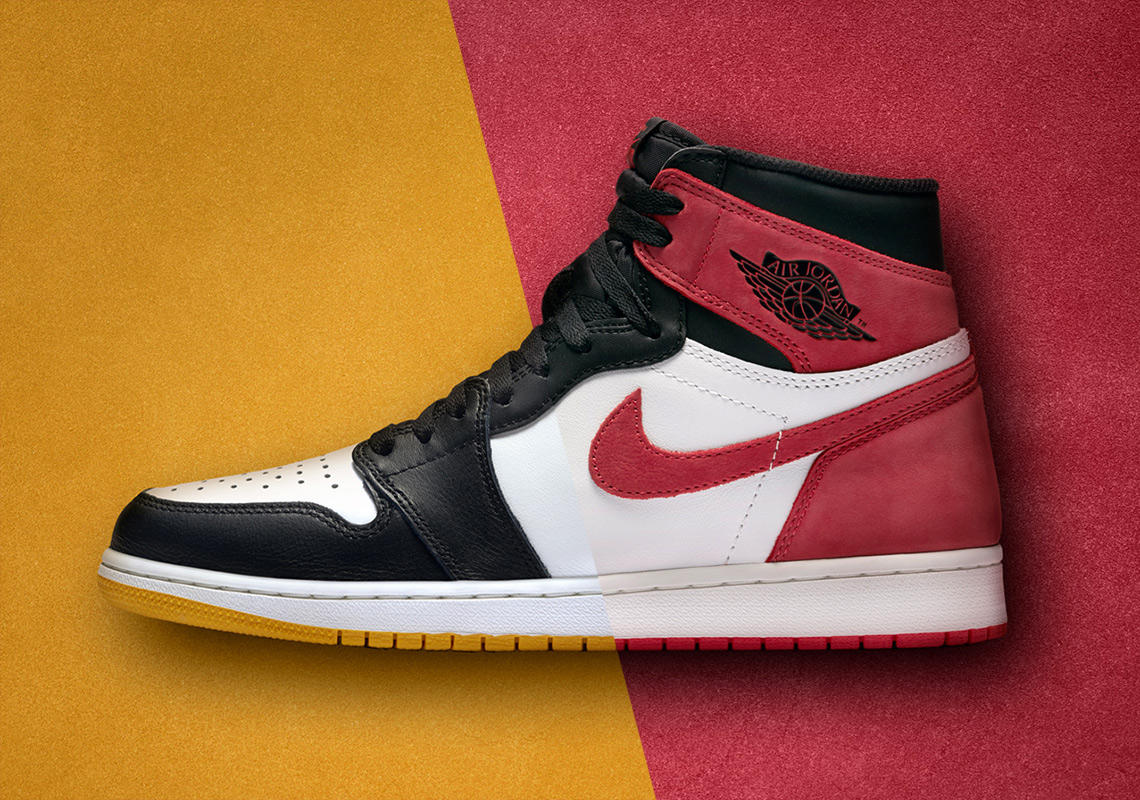 "1b75691bc83 Air Jordan 1 ""Yellow Ochre"" and ""Track Red"" Releasing On May 9th In Europe"