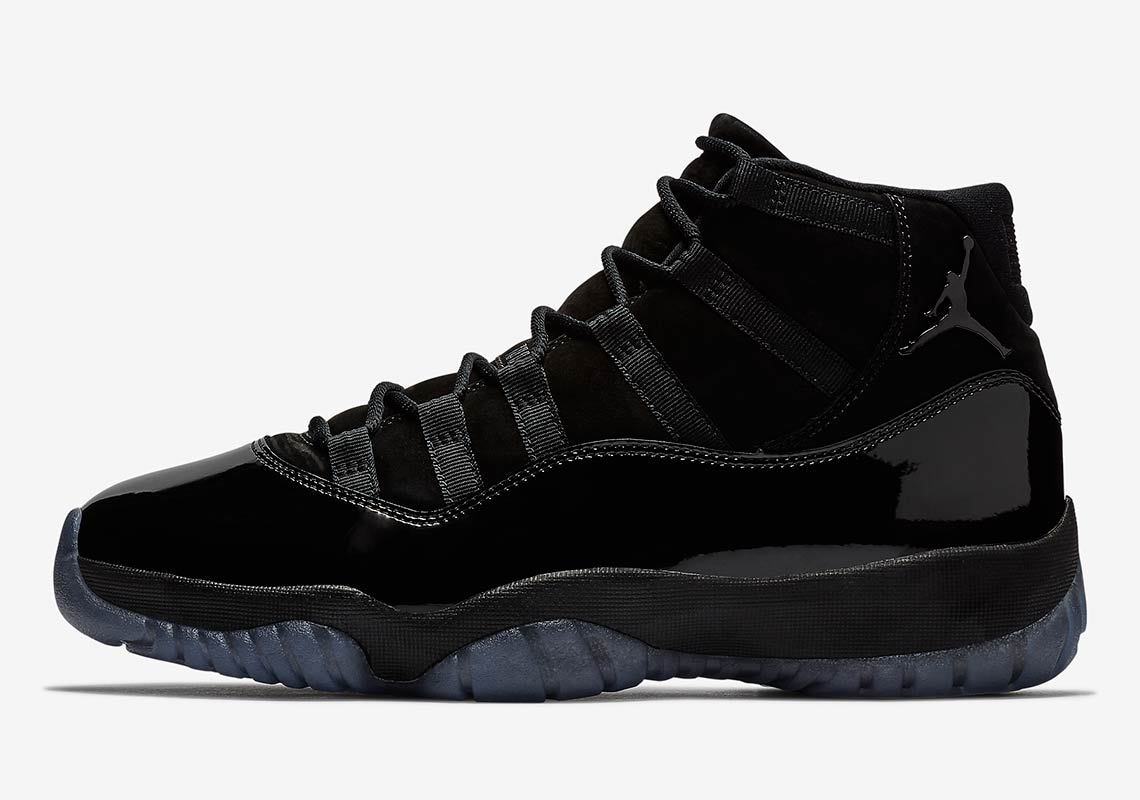 7b29af09ede Where To Buy: Air Jordan 11 Cap And Gown Black | SneakerNews.com