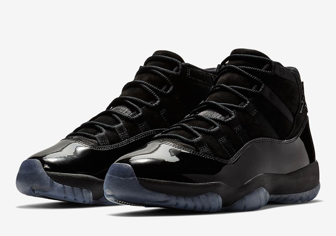 Where To Buy  Air Jordan 11 Cap And Gown Black  e2210a99c60