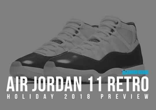 Two Air Jordan 11 Retros Set To Drop This Holiday Season