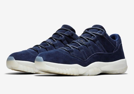 "Derek Jeter's Air Jordan 11 Low ""RE2PECT"" Is Releasing Soon"