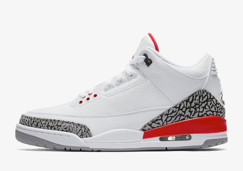 "45bf716f44ef84 Where To Buy  Air Jordan 3 ""Katrina"" May 5th Europe Release"