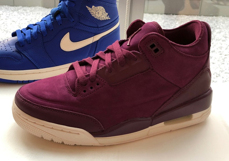 "cheap for discount 3db24 2628c Air Jordan 3 ""Burgundy"" Releases This Fall"