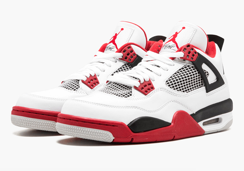 "Air Jordan 4 ""Fire Red"" Returning In 2019 833a18db1"