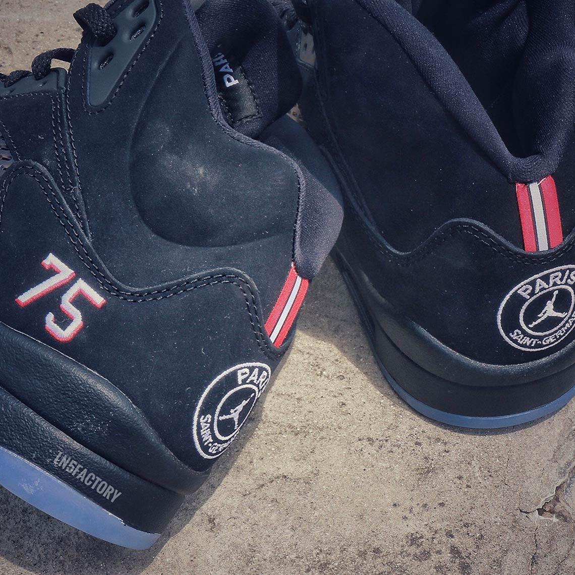 online store 8e54d 625a8 Air Jordan 5 Retro Paris Saint-Germain | SneakerNews.com
