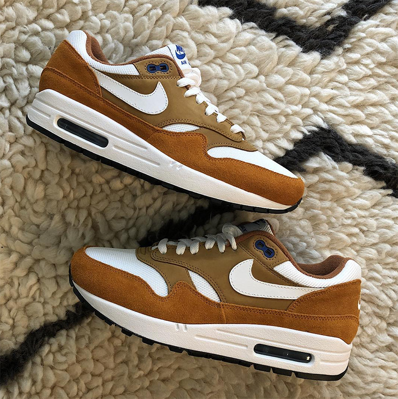 """Nike Air Max 1 """"Curry"""" Retro Releases On May 10th"""