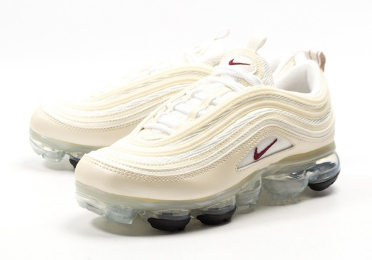 "Nike Vapormax 97 ""Metallic Cashmere"" Releases For Women"