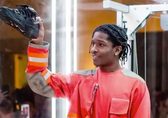 A$AP Rocky Reveals Upcoming Under Armour Sneaker