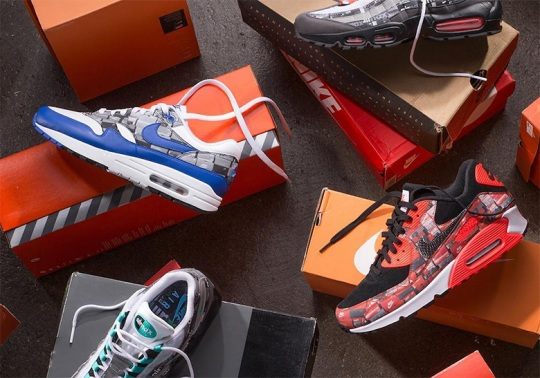 "Where To Buy: atmos x ""We Love Nike"" Pack"