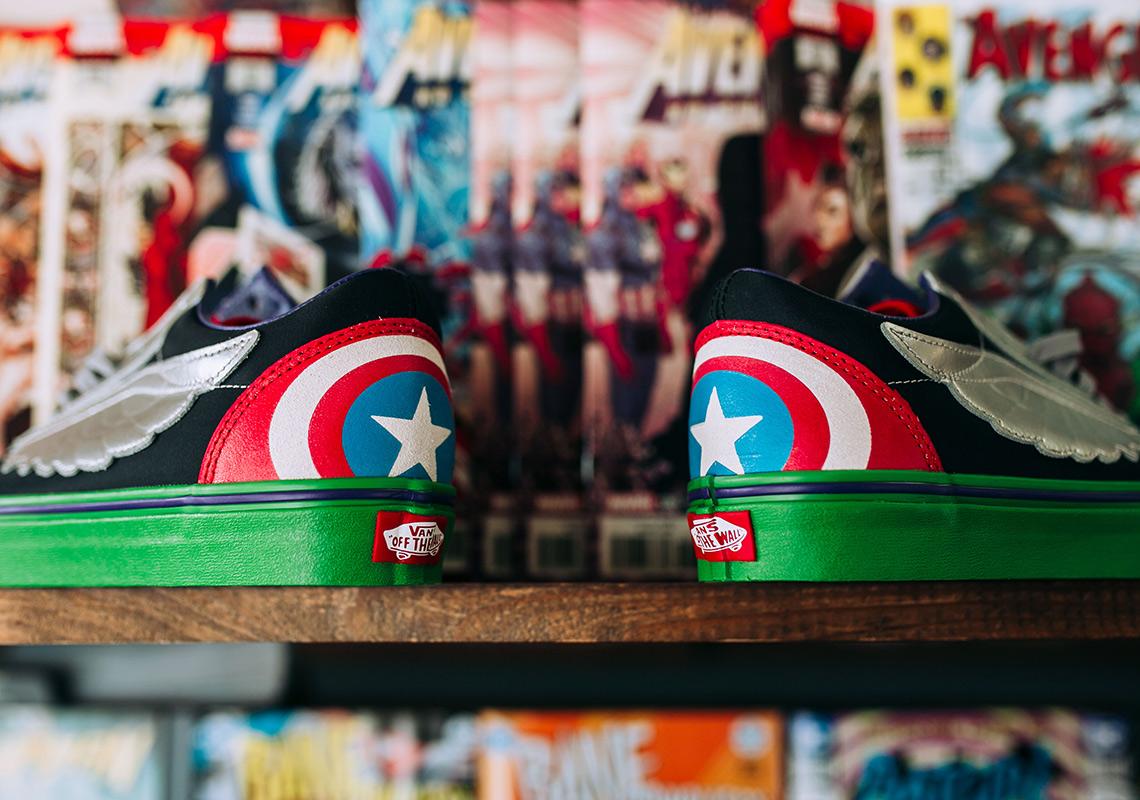 912d441ab52ba8 Marvel x Vans