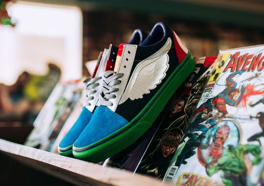 "cc088ed6091 Vans Is Releasing A ""What The"" Avengers Shoe"