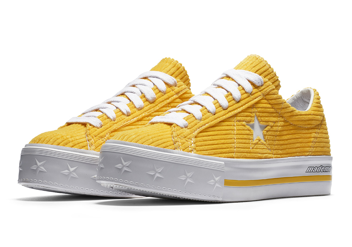 8d4b6160dc65e1 Converse x MadeME One Star Platform Release Date  May 24