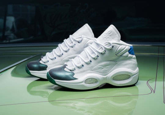 The Curren$y x Reebok Question Mid Comes In A Low-Rider Box