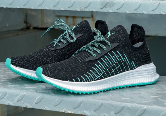 Diamond Supply Co. And Puma Collaborate On The Avid Knit Shoe