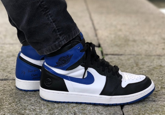 Hiroshi Fujiwara Breaks Instagram With His Fragment Design x Air Jordan 1 Mismatched Sample