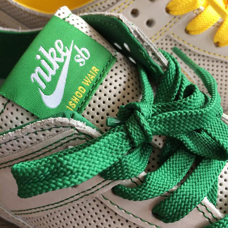 buy popular 9a5c6 3955e Ishod Wair x Nike SB Dunk Low Green/Yellow | SneakerNews.com