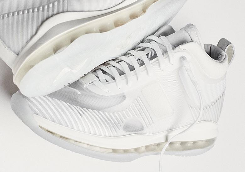 2994b2f3a3cb John Elliott LeBron James White Nike Sneaker