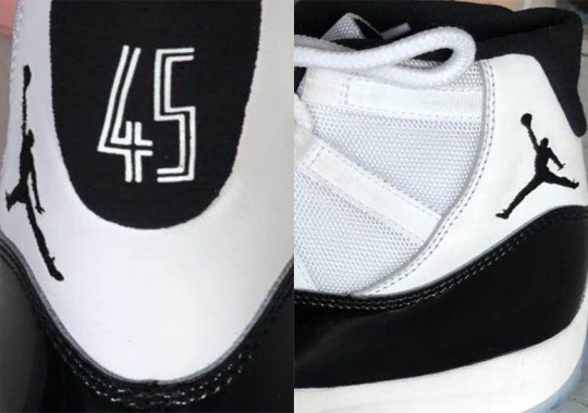 "Air Jordan 11 ""Concord"" Will Feature 45 On The Heel"