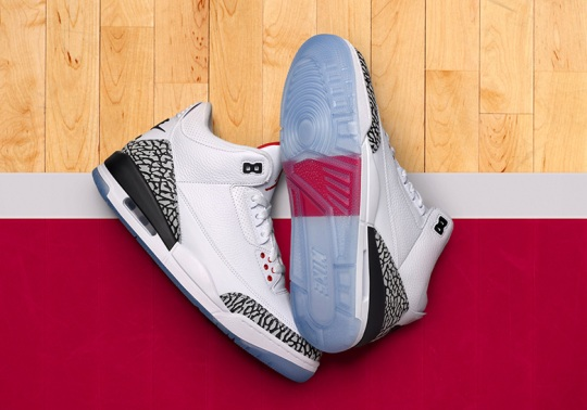 "Air Jordan 3 ""Free Throw Line"" Restock On Nike SNEAKRS Europe"