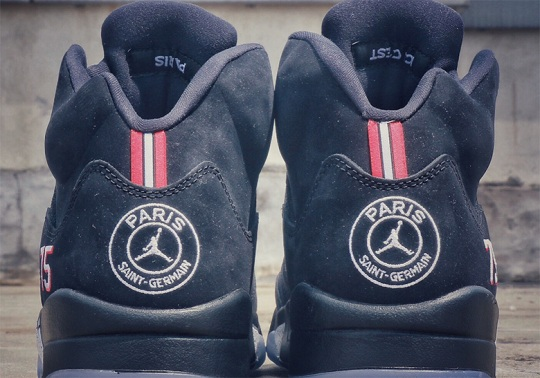 Jordan Brand And Paris St. Germain Pair Up For Air Jordan 5