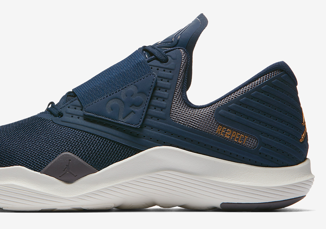 "timeless design a792e 84c7f Jordan Brand Releases The Relentless Training Shoe In ""RE2PECT"" Fashion"