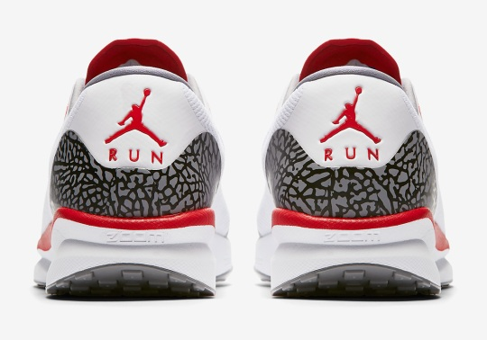 "The Air Jordan 3 ""Katrina"" Appears On This Running Shoe"