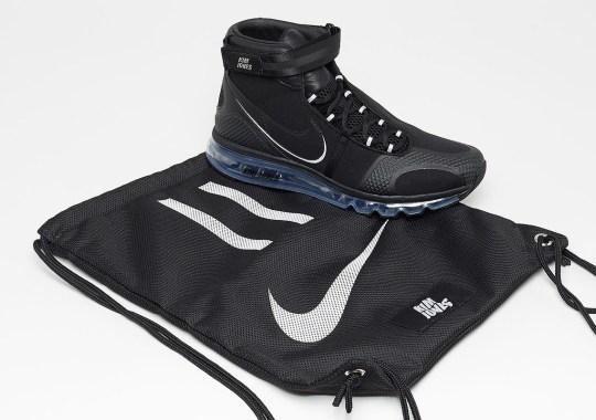 The Kim Jones x Nike Air Max 360 Hi Releases This Week In Two Colorways