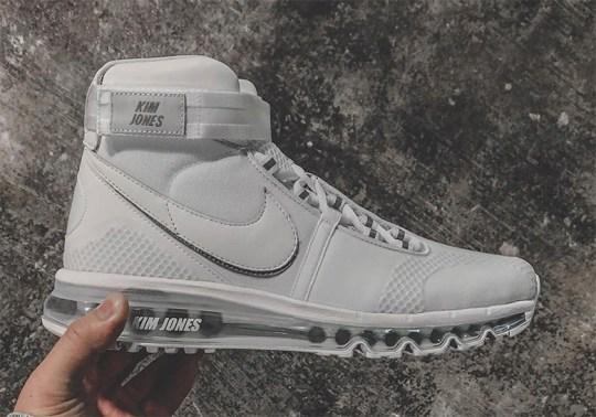 Kim Jones Reveals A New High-Top Nike Air Max Shoe