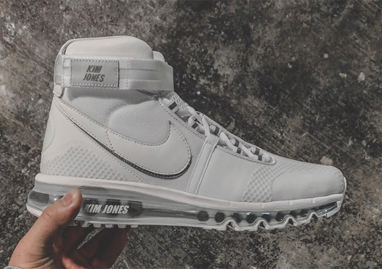 Kim Jones Reveals A New High-Top Nike Air Max Shoe